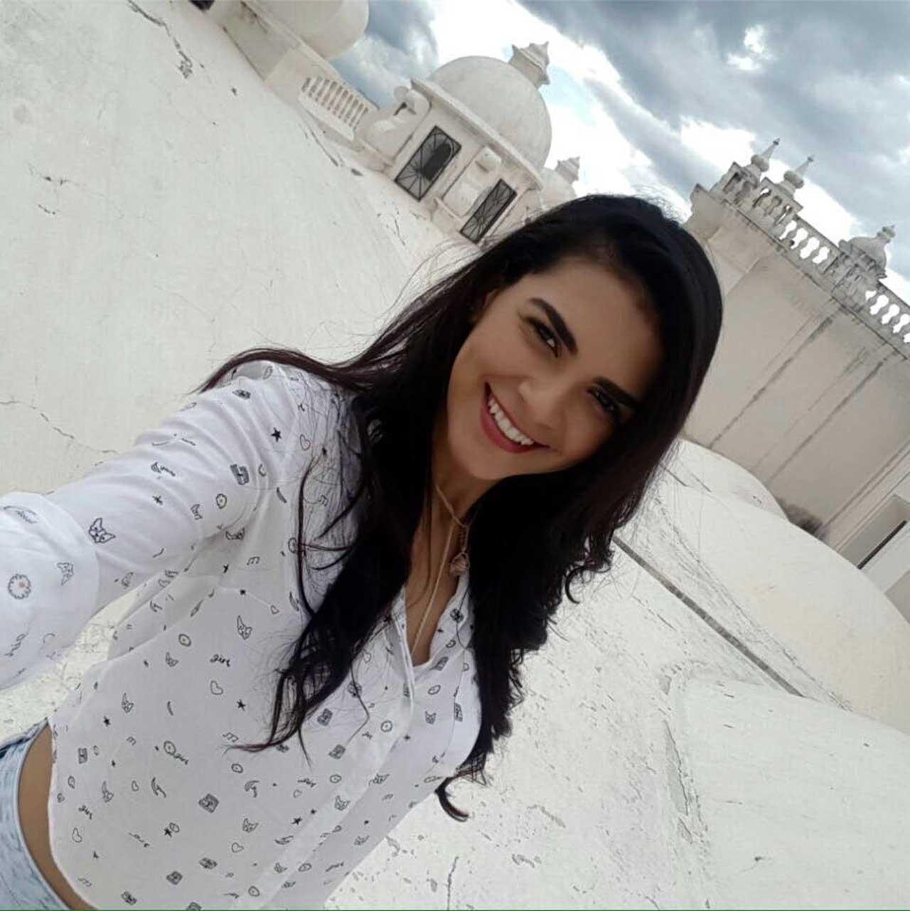 Raynéia Gabrielle Lima, estudante de Medicina na Universidade Americana em Manágua, morta por paramilitares sob comando de Daniel Ortega
