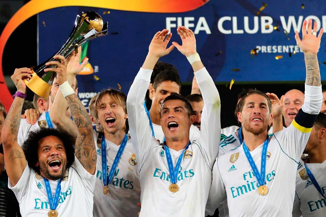 Real Madrid é bicampeão do Mundial de Clubes da Federação Internacional de Futebol (Fifa)