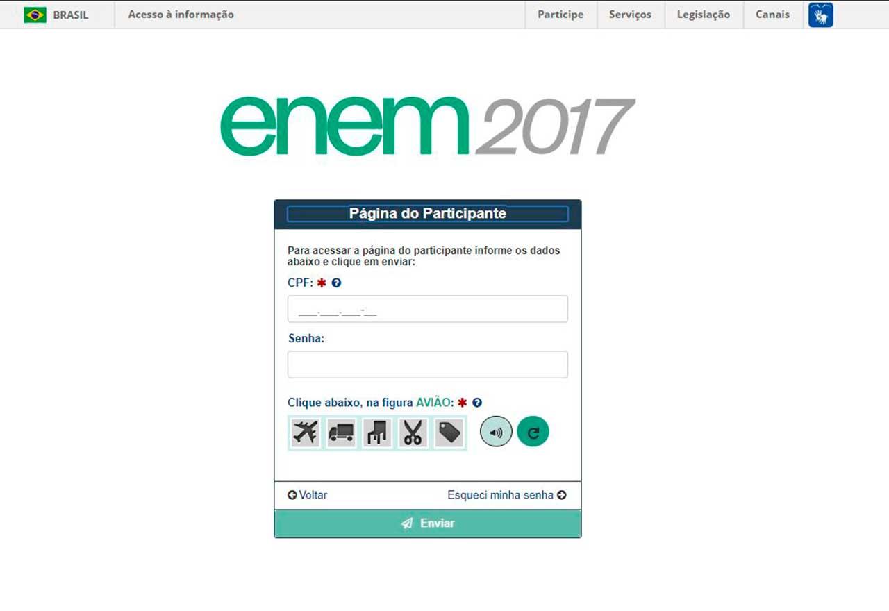 A partir de 18 de janeiro os estudantes poderão consultar os resultados individuais na Página do Participante, na internet