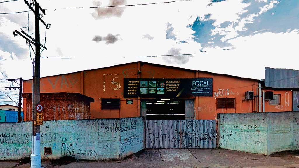 Antiga sede da Foca em 2014 em São Bernardo do Campo