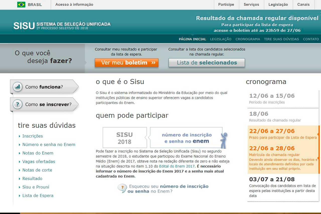 Sisu - site do prohrama