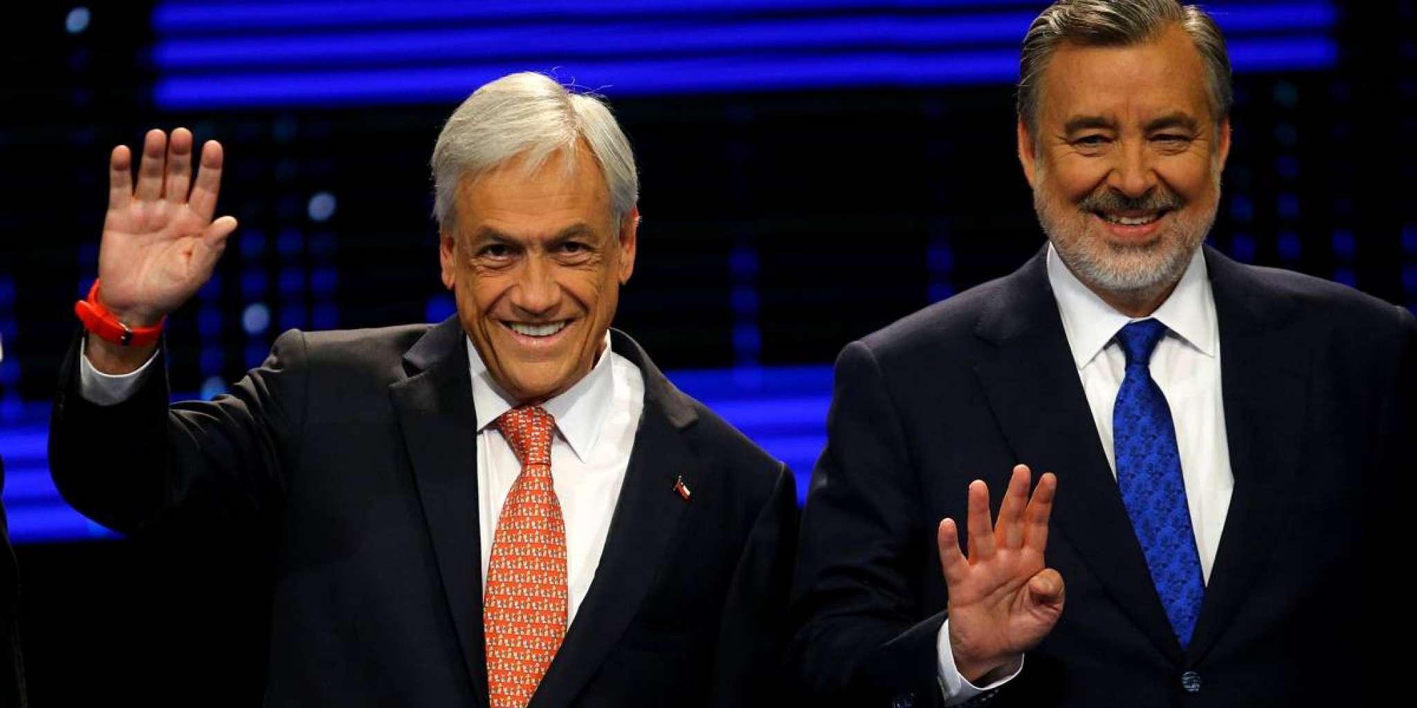 Segundo turno das eleições no Chile, em dezembro, será entre Piñera e Guillier