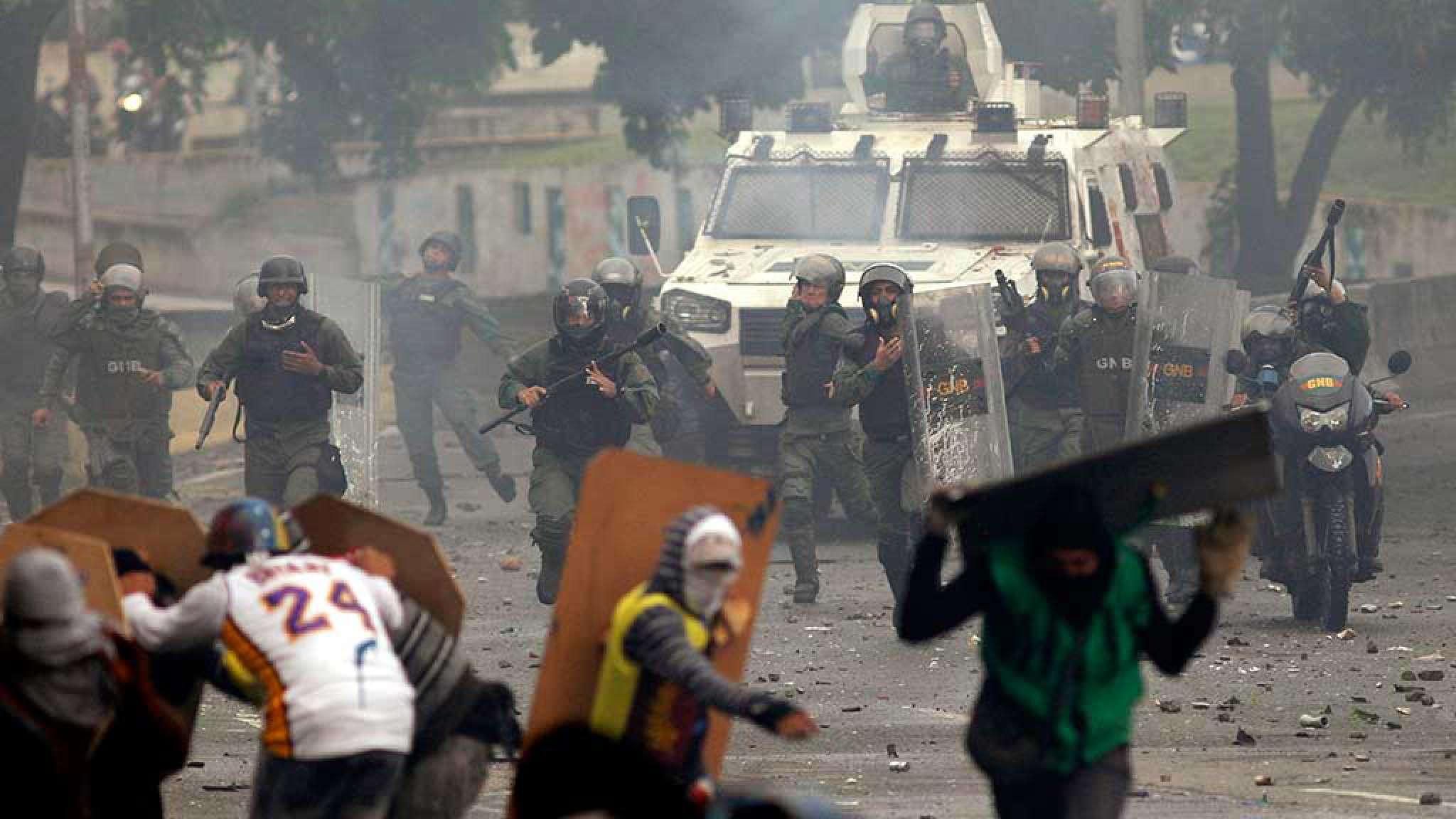 Protestos foram violentos na Venezuela