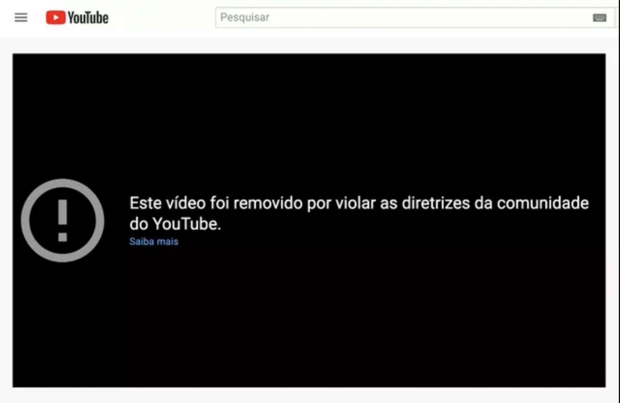 Vídeo do canal do presidente Jair Bolsonaro sobre cloroquina foi retirado do YouTube em 26 de maio de 2021