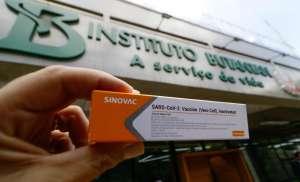 A CoronaVac, vacina produzida pela pela Sinovac Life Science Co em parceria com o Instituto Butantan. Foto: Divulgação