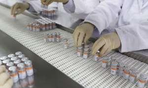 Produção da vacina Coronavac no Butantan
