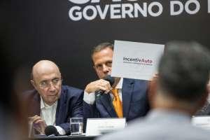 Governador João Doria anuncia o Programa IncentivAuto, voltado para a indústria automobilística