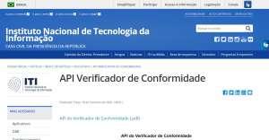 Site do Instituto Nacional de Tecnologia da Informação CASA CIVIL DA PRESIDÊNCIA DA REPÚBLICA