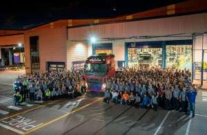 Fábrica da Volvo em crescimento