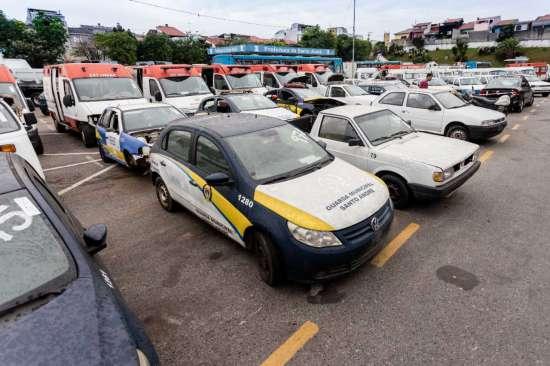 Leilão veículos Santo André