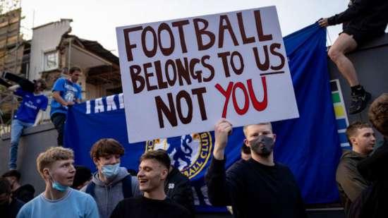 A reação dos torcedores dos clubes envolvidos foi muito negativa