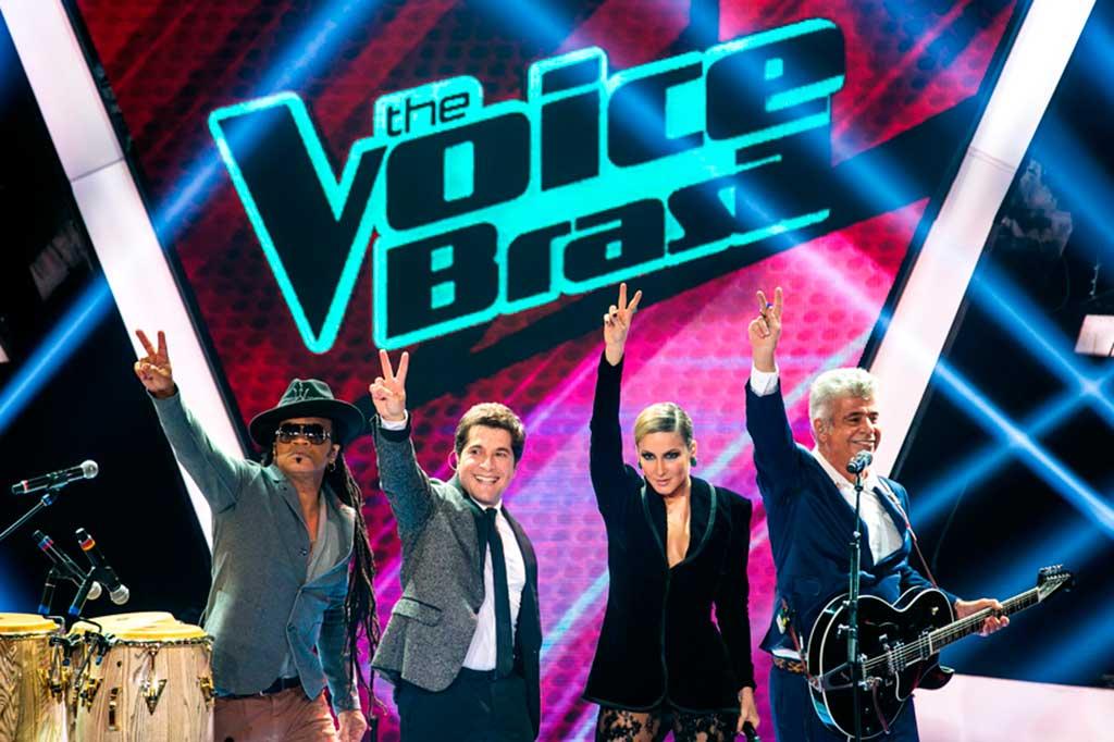 Técnicos do The Voice Brasil