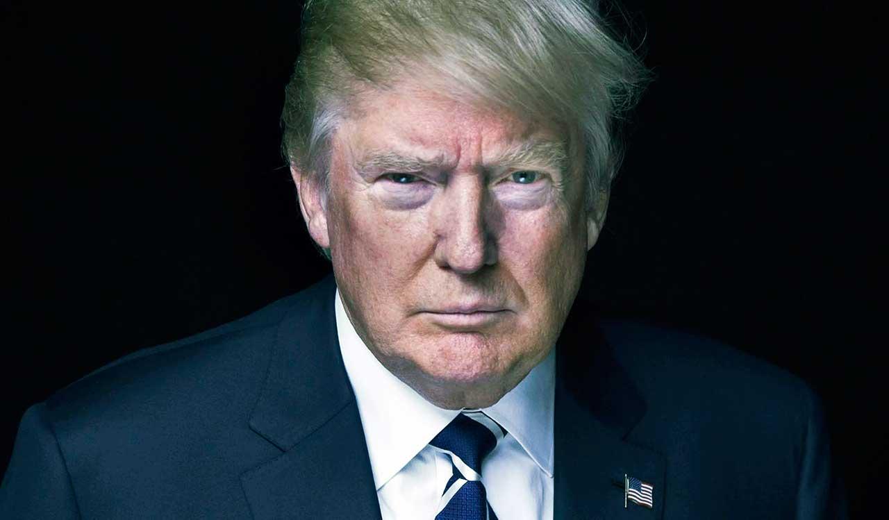 Donald Trump, presidente republicano dos Estados Unidos da América