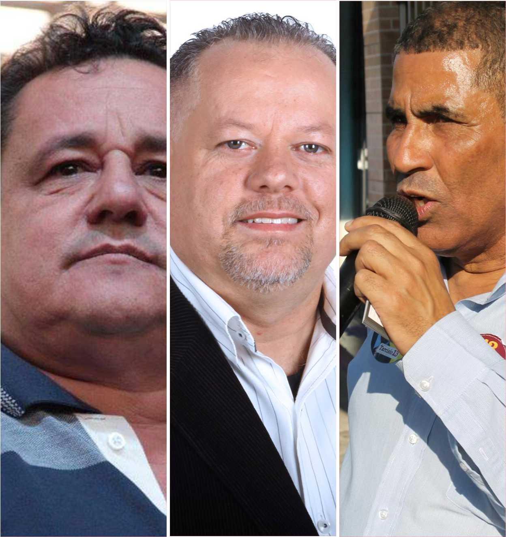 Zé Ferreira,Matias Fiuza e Luizinho, todos do PT, entraram na Justiça, em dezembro do ano passado, pedindo aproximadamente R$ 200 mil (total dos três ex-vereadores) em indenizações