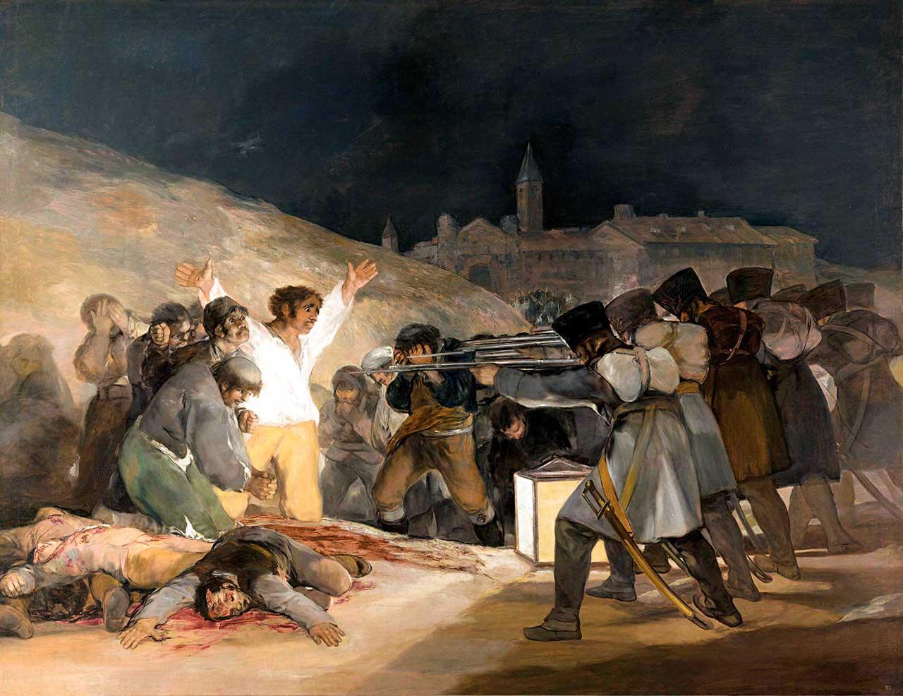Três de Maio de 1808 em Madri, de Goya