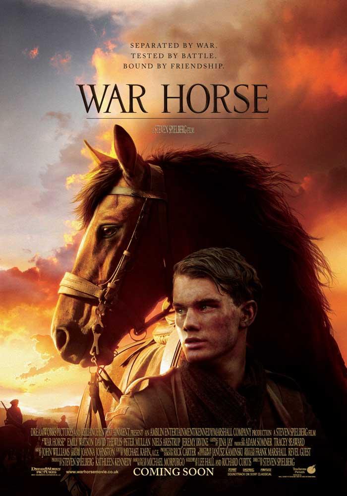 Com estreia prevista para janeiro de 2012 no Brasil, o filme Cavalo de Guerra promete emocionar o público com a história de lealdade, esperança e tenacidade